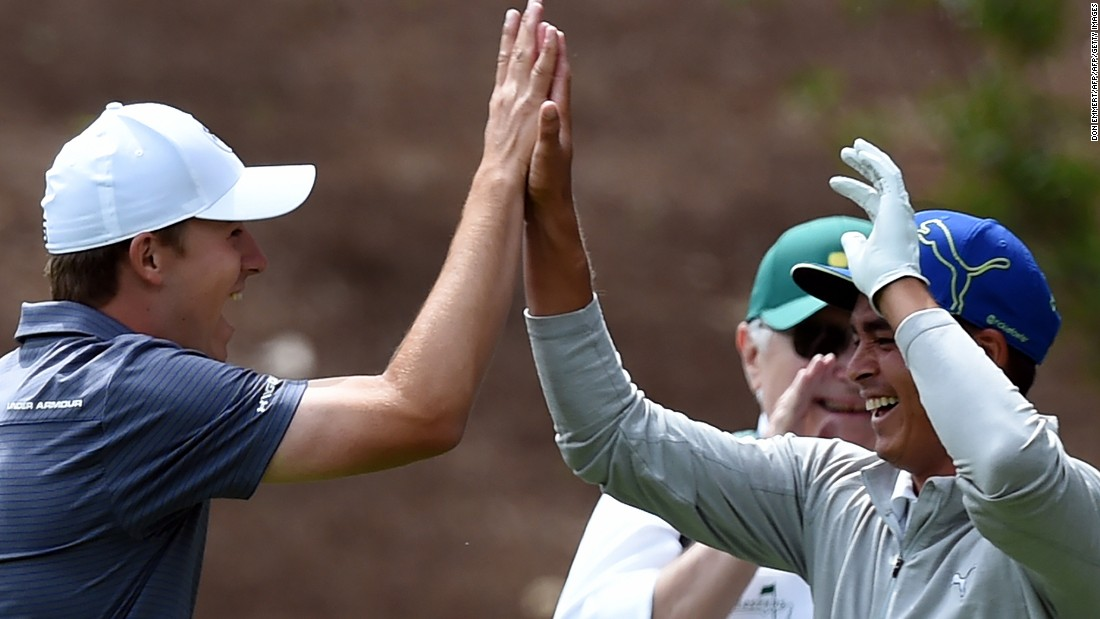"...and Fowler immediately followed. The 27-year-old -- one of the favorites for this year's Masters which begins on Thursday -- ensured ""back-to-back"" holes-in-one by matching his compatriot's effort."