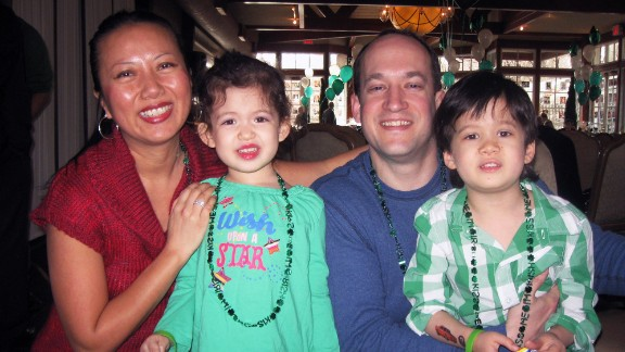 """In 2010, the Shepard family was introduced to the St. Baldrick's Foundation, a nonprofit that focuses on childhood cancer. Brad and Geri loved the way the events allowed their kids to have fun and """"just be kids for a little while."""""""