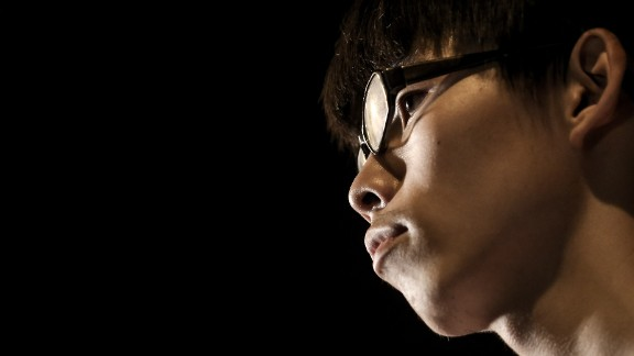Umbrella Movement leader Joshua Wong