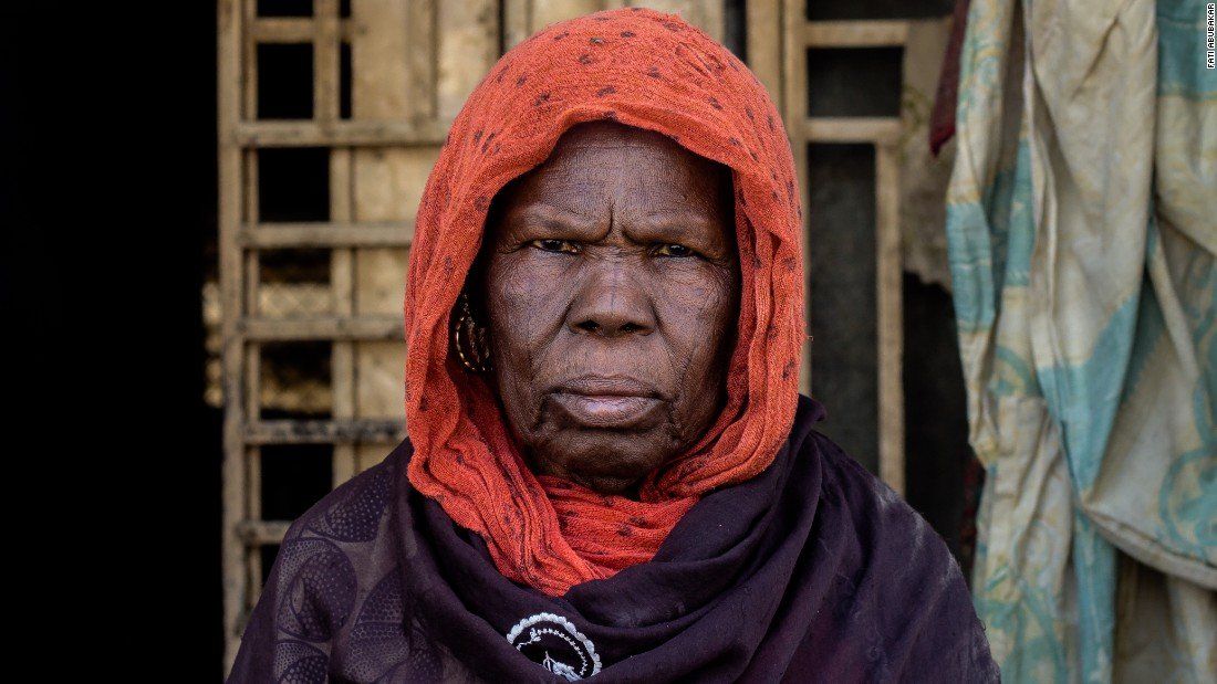 "Fati Abubakar is a Nigerian documentary photographer from Maiduguri, Borno. Her hometown has been ravaged by the terror group Boko Haram, but <a href=""https://edition.cnn.com/style/article/lagos-photo-festival-2016/index.html"" target=""_blank"">she documents her subjects </a>on <a href=""https://www.instagram.com/bitsofborno/"" target=""_blank"">Instagram</a> to show life continues even after deadly terror attacks that has killed and displaced thousands of people. This image shows, Kellu, a woman who fled her village to Maiduguri with her extended family.<br /><br />Read more about Abubakar <a href=""https://edition.cnn.com/style/article/lagos-photo-festival-2016/index.html"" target=""_blank"">here</a>."