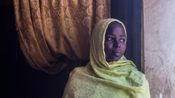 """The Boko Haram terrorists went away with two of my siblings and my brother was shot on our way to Maiduguri. Even after finding safety here, we have lots of problems. Food, rent. We"