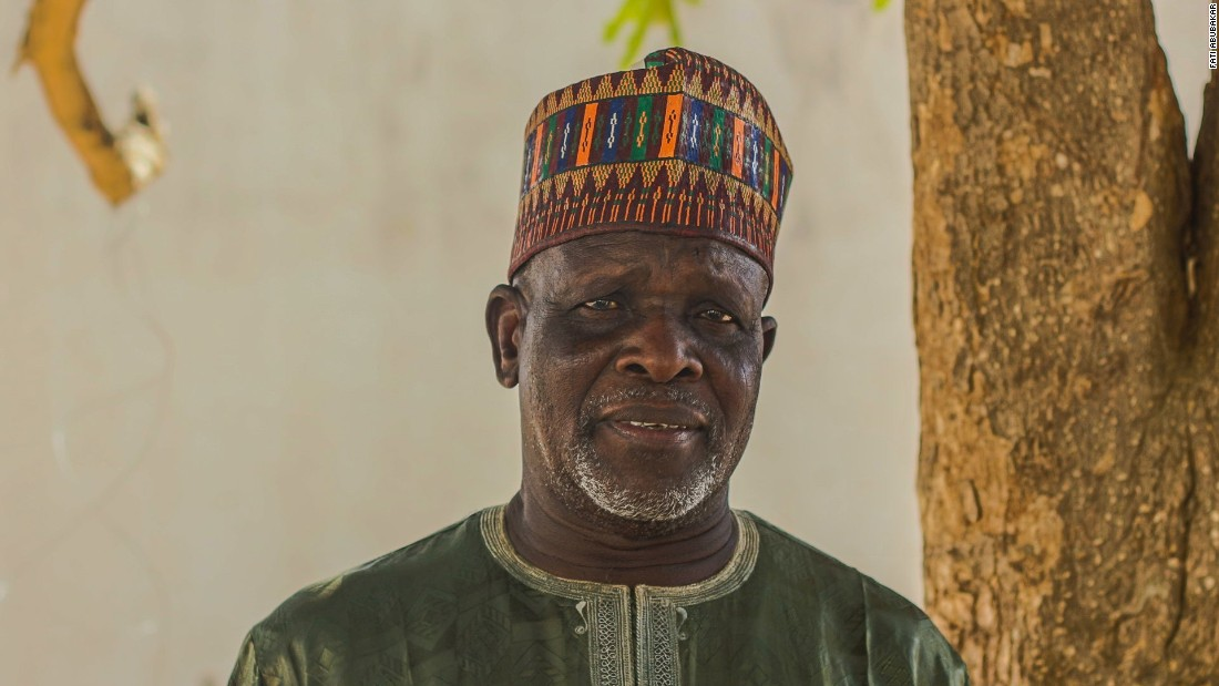 """I was an ex-soldier living in Bama when the Boko Haram terrorists came. They burned all of my property, my animals and killed my two sons. My son had married June 15th, 2013 and he was killed 1st September, two months after his wedding. We walked to Maiduguri and have been living here for some time now, but I struggle with food, clothing and a mattress to lay my head on. I still don't have food and I have a young 10-year-old and a wife to feed."""