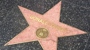 Donald Trump's star outshines -- or dims -- Hollywood Walk of Fame