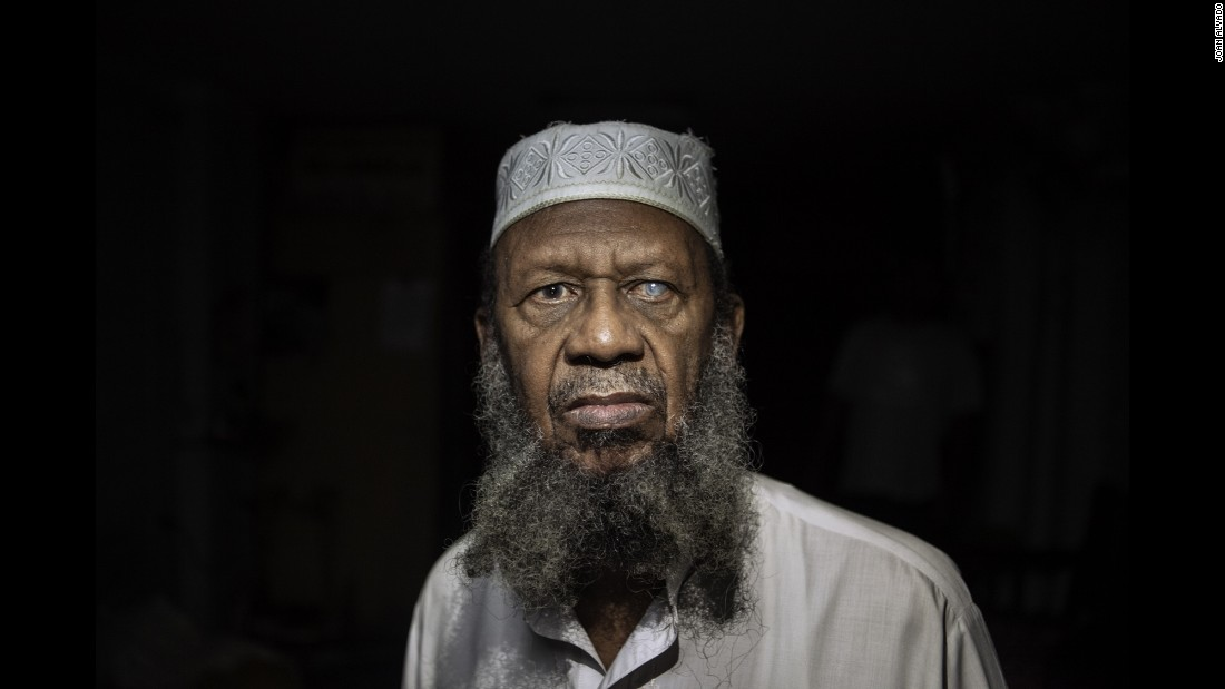 Hassan Abdul Gafur, one of the few thousand Muslims in Cuba, converted to Islam in 1994. Photographer Joan Alvado said the Muslims he met in Cuba were converts.