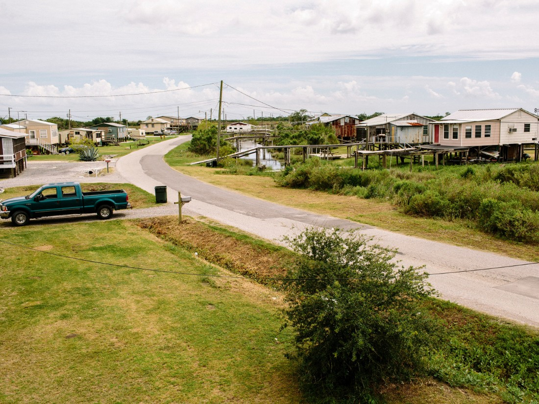 Only one road goes to the community: Island Road. About 25 to 30 homes are left on the island. Residents will have the option to move to the new community, but they will not be forced to leave.