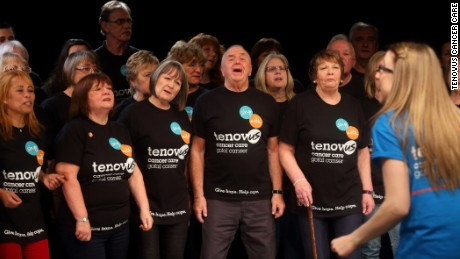 A study finds an association between choir singing and a boosted immune system in cancer patients.