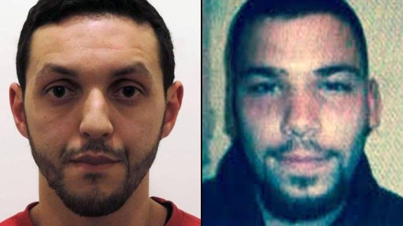 Mohamed Abrini and Naim al Hamed.  Naim al Hamed is also known as Osama Krayem, according to a source close the the Belgian investigation.