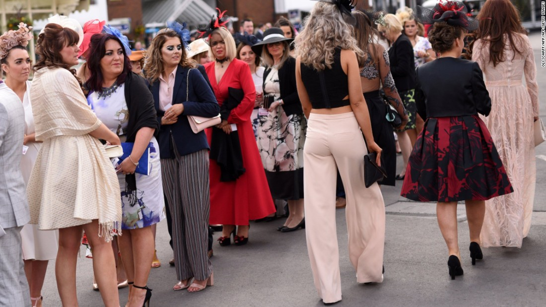 "On ""Ladies Day,"" the second day of the festival, the fashion stakes are similarly high -- the most stylish racegoer will take home a Range Rover worth £35,000 ($49,000) and another £8,000 ($11,000) worth of prizes from shopping complex Liverpool ONE."