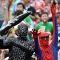 Hong Kong Sevens Spiderman