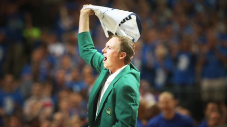 The Masters' iconic green jacket