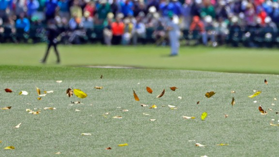 Windy conditions made low scores tough to come by during this year's tournament.