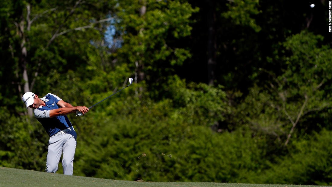 Jason Day, the world's top-ranked golfer, was 1-under on Saturday. He was three strokes off the lead going into Sunday.