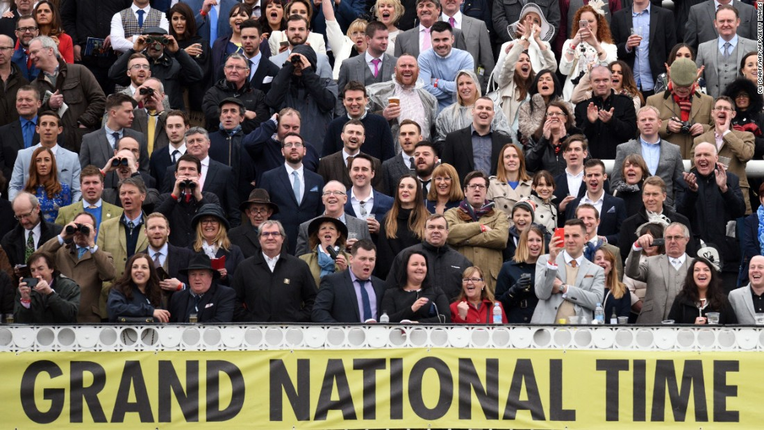 The Grand National is the UK's most famous horse race and organizers estimated it would be watched by 600 million people around the world.<br />