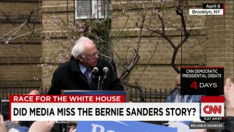 Did the media miss the Sanders story?_00015002
