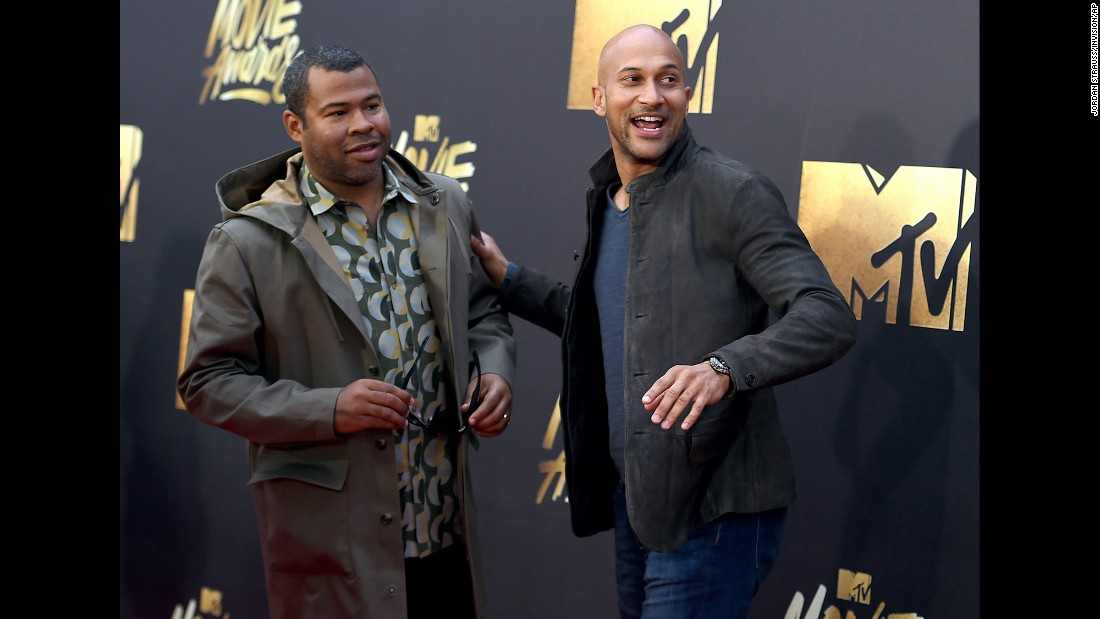 Keegan-Michael Key, left, and Jordan Peele