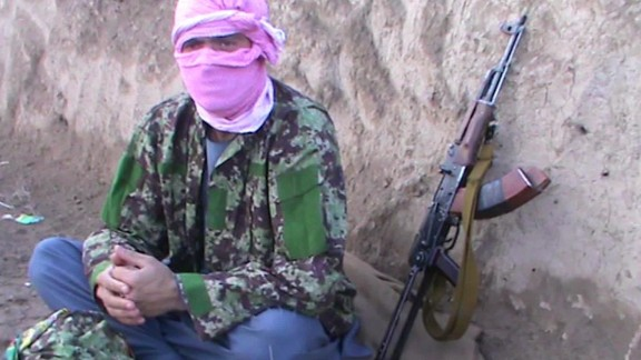 Former Afghan army soldiers have deserted and joined the Taliban.