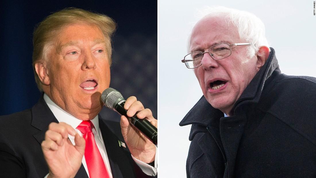 Trump says he will not debate Sanders