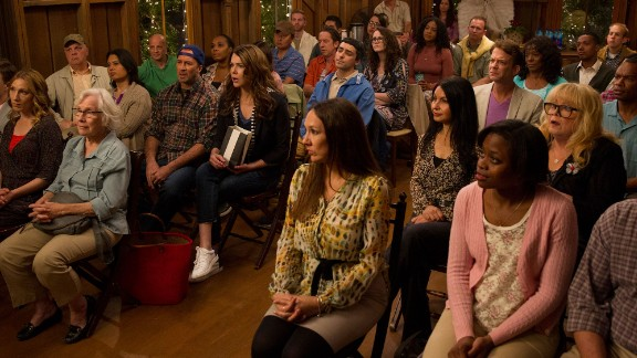 Town hall meeting in Stars Hollow, perhaps?