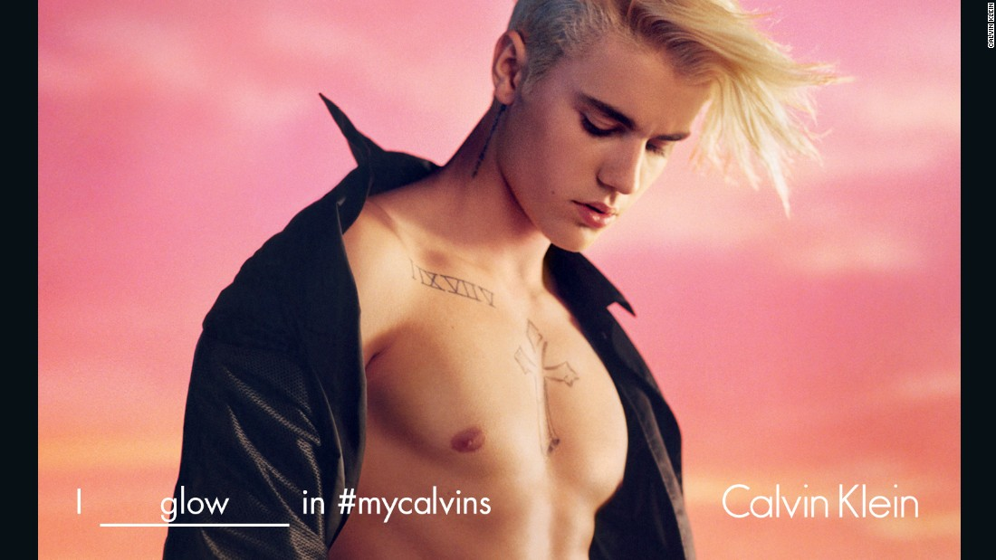Today, Calvin Klein has enlisted not a model but pop star Justin Bieber to promote its underwear.