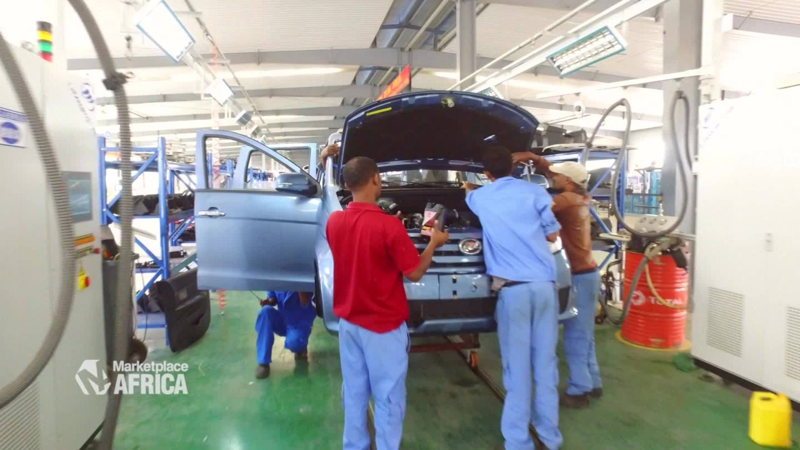 Ethiopian car industry races ahead - CNN