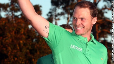 Danny Willett: Brotherly 'love' helps fuel green jacket success