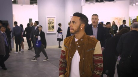 Did you know Lewis Hamilton was an art lover?