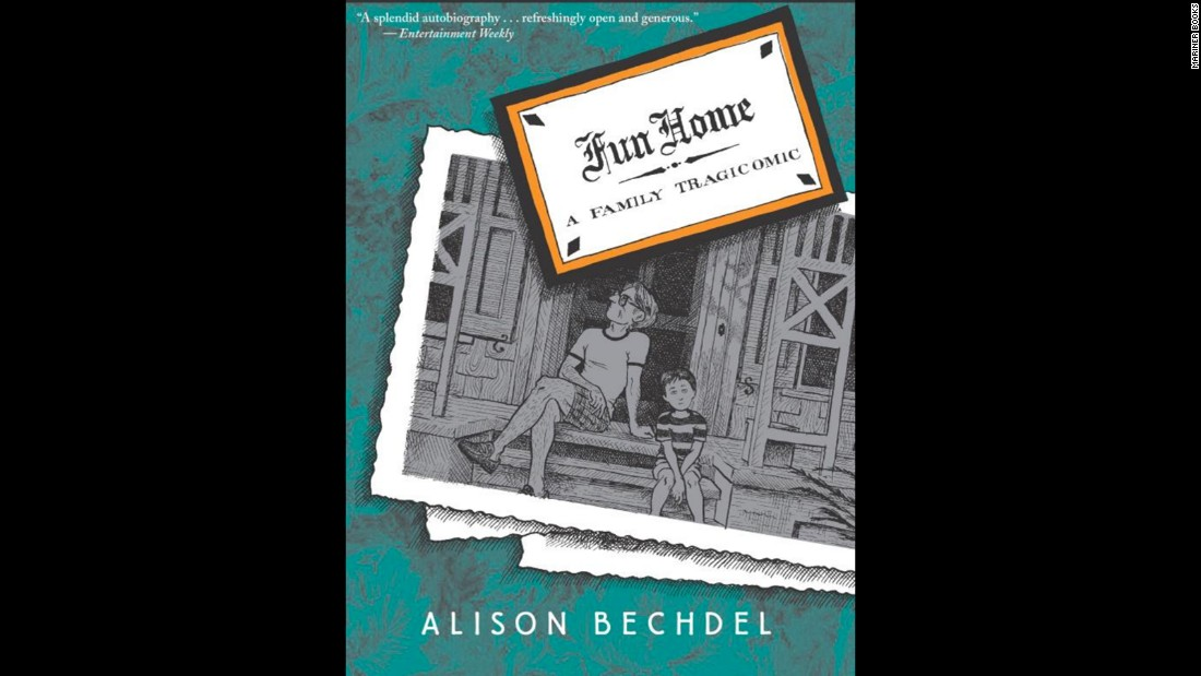 """Fun Home,"" Alison Bechdel's graphic novel, concerns growing up with a sexually closeted father and the author coming to terms with her own sexuality. It was challenged for violence and graphic images."