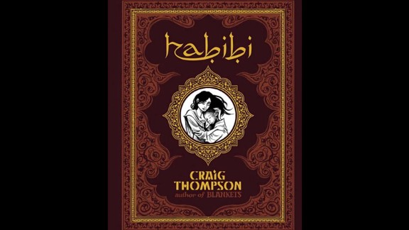 """""""Habibi,"""" a graphic novel by Craig Thompson, includes a focus on Islamic culture and is about two slave children. It was challenged for nudity and sexual explicitness."""