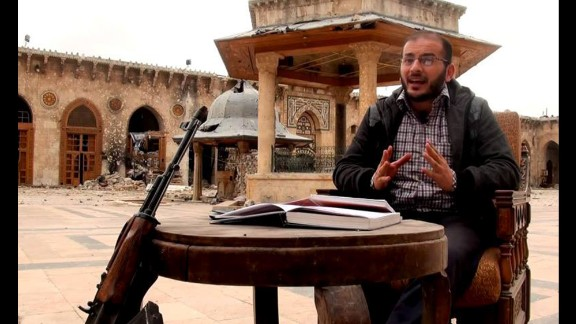 Zaher AlShurqat fought in Syria before coming to Turkey.