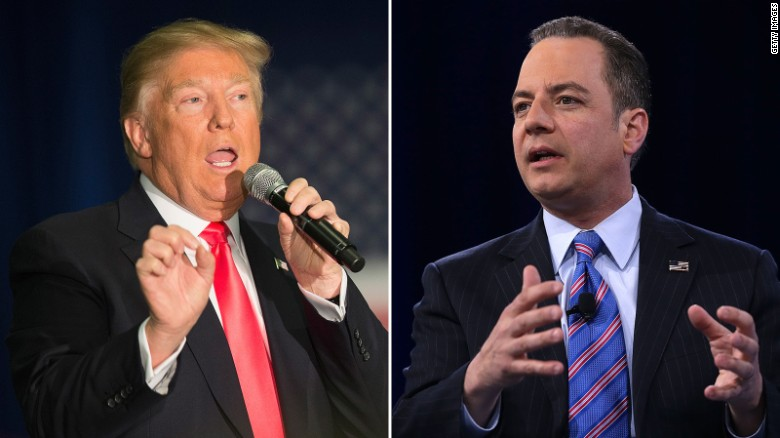 Reince Priebus: Donald Trump rhetoric is 'hyperbole'