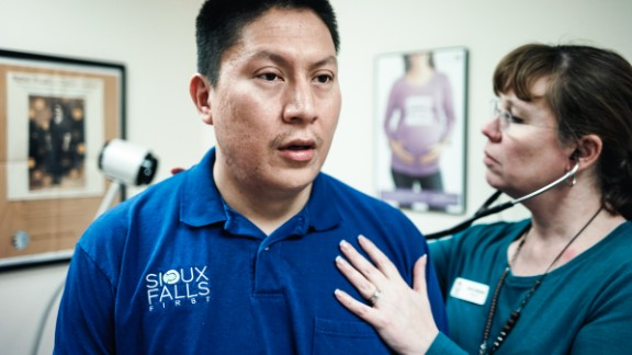 Joe Marrowbone, 34, originally from Cherry Creek in Cheyenne River Sioux Indian Reservation, now lives in Sioux Falls and is a registered patient with Urban Indian Health.