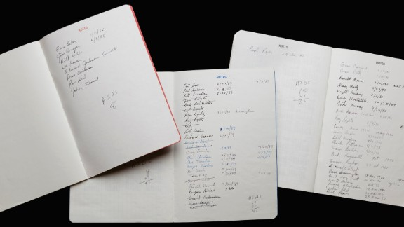 Dr. Jesse R. Peel, a retired psychiatrist and long-time AIDS activist in Atlanta, kept his appointment books as a memento of the era. In the 1980s, though, his books took on an additional purpose: chronicling the names of friends he lost to AIDS. There are pages and pages. After so many losses into the 1990s, Peel said, he eventually gave up counting.