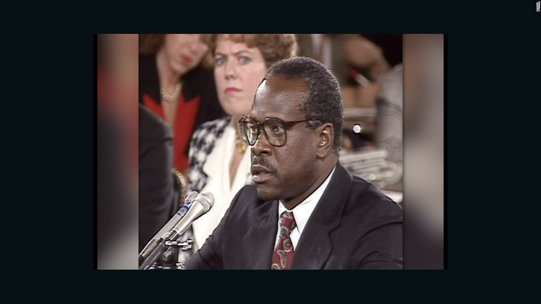 an introduction to the life of clarence thomas a supreme court justice There was a different clarence thomas onstage at the federalist society's annual gala thursday night in the words of the playwright, he was the supreme court.