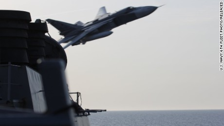 Kerry: Navy destroyer could have 'shot down' Russian fighter jets
