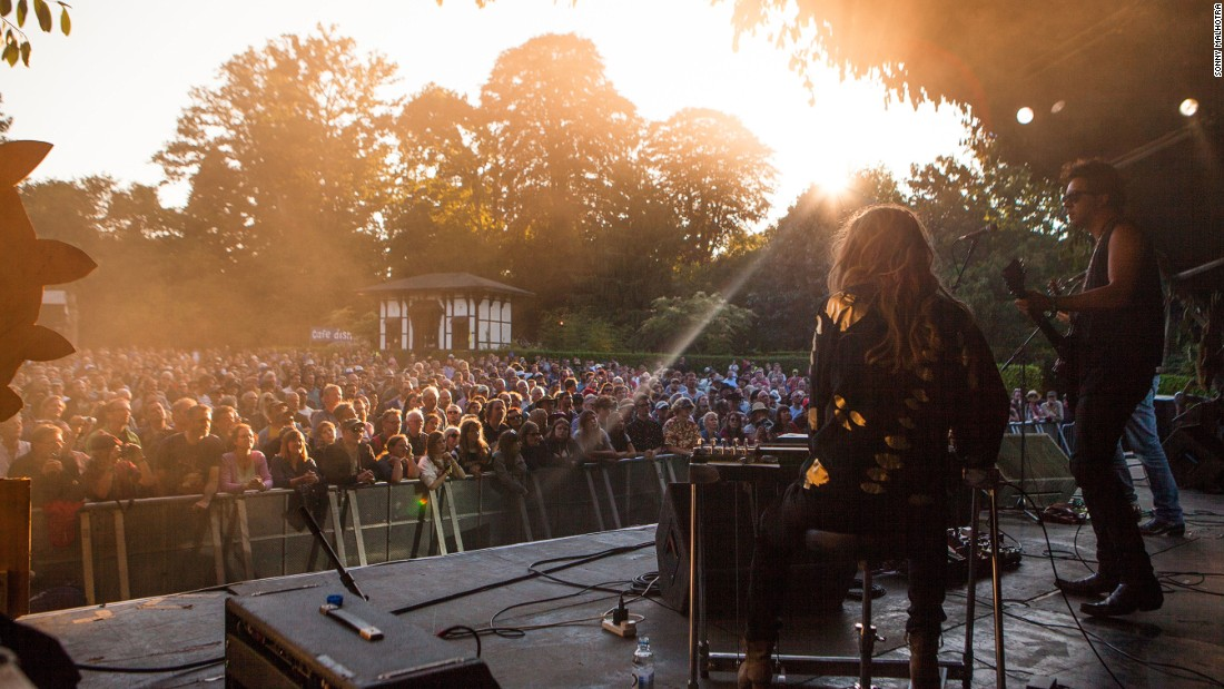 Set in the beautiful Larmer Tree Gardens in southern England, this boutique festival is considered the UK's best live music and comedy weekend.