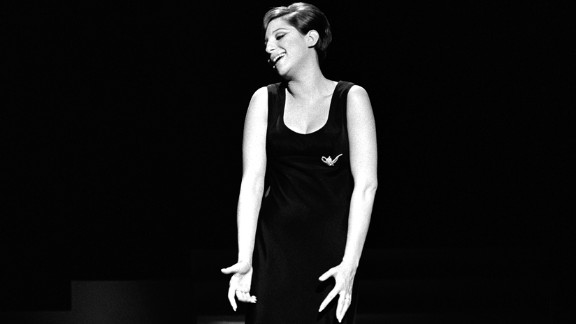 "Barbra Streisand performs on the set of her first television special, ""My Name Is Barbra,"" on April 28, 1965. Streisand was 22 years old when it was filmed. The hourlong show won five Emmy Awards and two Tony Awards, and the album that came with it won a Grammy. The success underlined just how much of a star Streisand had become in a short period of time."