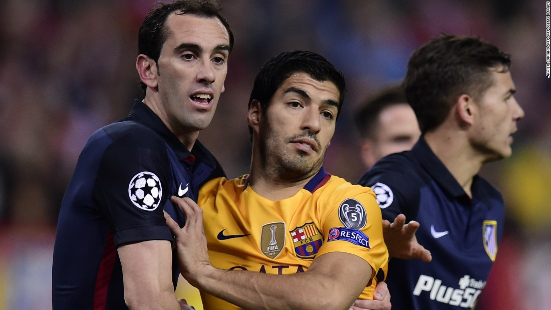 Luis Suarez went close to grabbing an equalizer after the interval when his snapshot was well saved by Jan Oblak in the Atletico goal.