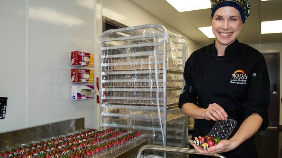 Lauren Gockley is hoping to bring a new, refined taste to edibles.
