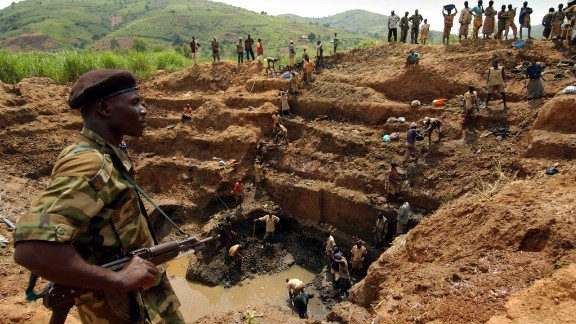 A gold mine in the Democratic Republic of Congo. The country holds natural resources worth trillions of dollars but the population is blighted with extreme poverty and violence.  In a new edition of his book 'The Looting Machine,' investigative journalist Tom Burgis explores why resource-rich states are failing their people.