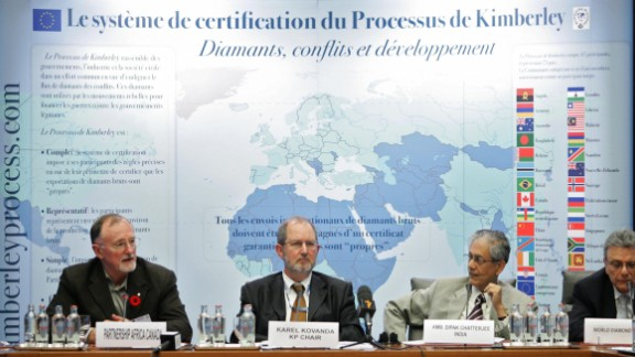 Some measures have been taken to address the issue, such as the Kimberley Process to stop 'blood diamond' trafficking.  Burgis argues that the most effective move would be a global public registry of companies and trusts, to combat the secrecy of offshore financing that enables illicit resource deals.