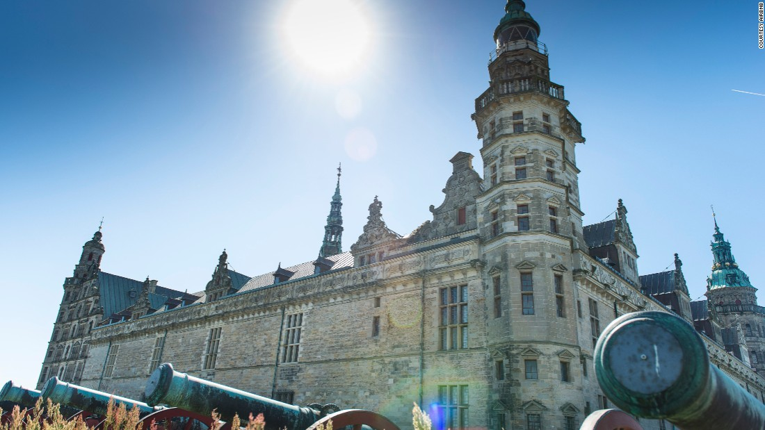 Officially called Kronborg Castle, the castle is a UNESCO World Heritage Site in Helsingø, Denmark.