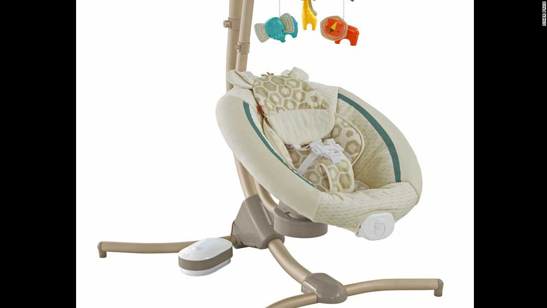 Fisher Price Cradle Swings Recalled Over Fall Hazard Cnn