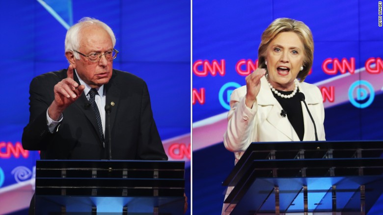 Clinton vs. Sanders; the fight for New York voters