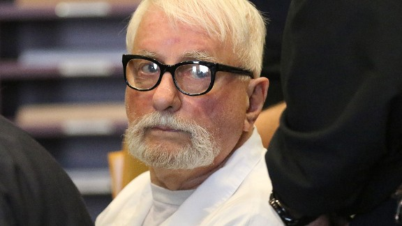FILE - In this March 29, 2016 file photo, Jack McCullough, 76, appears in court for a hearing on his petition for post-conviction relief at the DeKalb County Courthouse in Sycamore, Ill. McCullough was convicted in 2012 for the 1957 slaying of Maria Ridulph, of Sycamore. But State