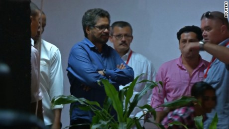 FARC leader says peace talks working towards a ceasefire.
