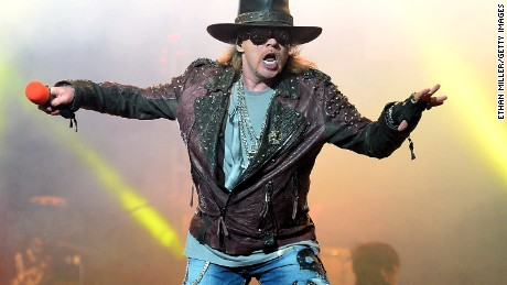 "Guns and Roses singer Axl Rose is probably not a fan of ""Fat Axl."""