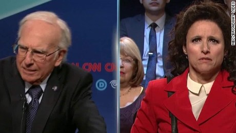 snl democratic debate seinfeld seg_00003022