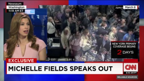 "Michelle Fields says Trump ""defamed me"""