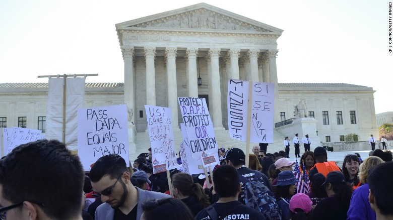 SCOTUS hears immigration arguments