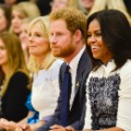 Michelle Obama and Prince Harry Oct 28